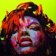 Amazing color in these portraits by Francoise Nielly