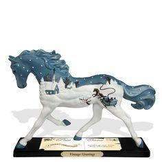 Trail of Painted Ponies Vintage Greetings Figurine
