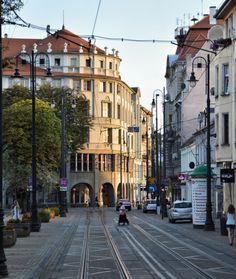 Gdanska Street, Bydgoszcz, Poland