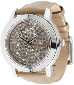 DKNY Glitz Brown 3-Hand Analog Women's watch #NY8478 DKNY. $121.50. 44mm Case Diameter. Mineral Crystal. 50 Meters / 165 Feet / 5 ATM Water Resistant. Quartz Movement