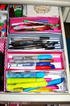 Preppy Organization and DIY Style