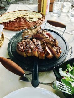 Italy Street, Pork, Meat, Kale Stir Fry, Pork Chops