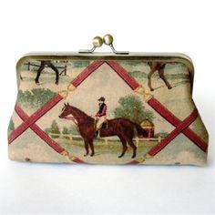 Monedero - Caballos - horses - style - vintage