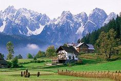 Dachstein Mountains, Austria.