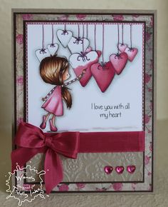 like the hearts display