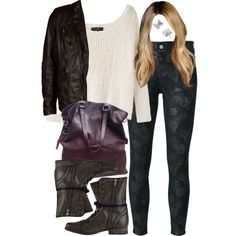 """""""Malia Inspired Fall Outfit"""" by veterization on Polyvore"""