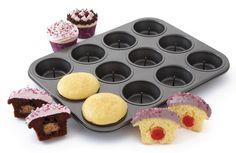 Piikikäs muffinssimuotti - Leivo muffinsseja, joissa on mehevä yllätys keskellä! 29.90€