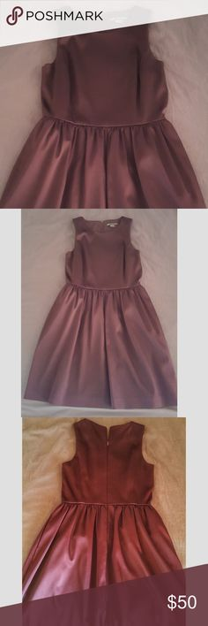 *SALE* Armani Exchange dress This dress looks and feels so elegant. High quality deep plum-colored fabric that lays beautifully. In excellent condition except for the tiny indent shown in picture. Armani Exchange Dresses Midi