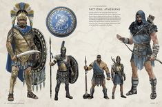 The Art of Assassin's Creed Odyssey Arte Assassins Creed, Assassins Creed Origins, Assassins Creed Odyssey, Greek History, Ancient History, Rome History, Fantasy Armor, Fantasy Weapons, Warrior Concept Art