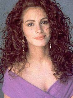 Julia Roberts in Pretty Woman – Valeria LoDico – Hair Clips Cheveux Julia Roberts, Julia Roberts Hair, Julia Roberts Style, Curly Hair Styles, Natural Hair Styles, Beautiful Actresses, Pretty Woman, Hair Goals, Her Hair