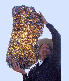 Palasita, meteorito de olivina e níquel ferro