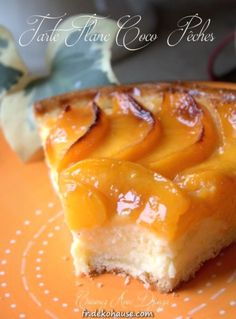 Coconut flan flan and peaches in syrup – Christmas Ideas Flan Dessert, Custard Desserts, Thermomix Desserts, No Cook Desserts, Easy Desserts, Filipino Desserts, Easy Cake Recipes, Brownie Recipes, Raw Food Recipes