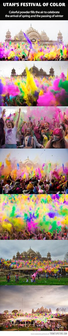 Awesome Festival of Color…