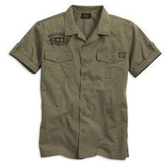 Harley-Davidson Men's Shortsleeve HDMC Garage Shirt