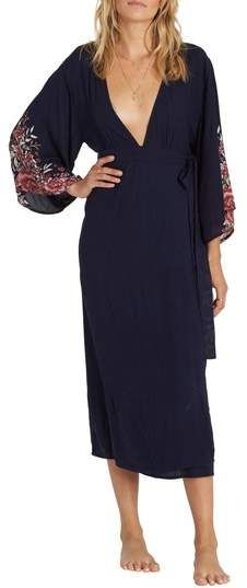0c0c01056f233 Billabong Robe Life Midi Dress Nordstrom Dresses, Billabong, Colorful  Fashion, Get Dressed,