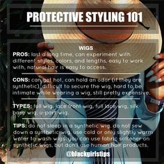 Black Girls Tips — Protective Styling 101  Follow my Twitter &...
