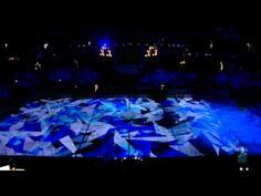 Ice Hockey World Championship 2012 Helsinki Finland opening ceremony including very nice light show and music by Nightwish.