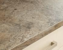 Natural Stone Tan Square Edged Worktop | Kitchen Worktops | Howdens Joinery