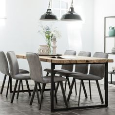 Table Design Bois, Table Teck, Dining Table, Patio, Menorca, Furniture, Home Decor, Table And Chairs, Industrial Table