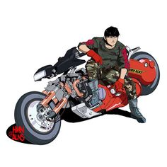 Anime Drawing Ideas Here's Why Streetwear Culture Is Obsessed With Anime - Since the recent reveal that Supreme and Akira will be teaming up with for a collaboration, lets take a look at why streetwear is obsessed with anime. Character Concept, Character Art, Concept Art, Character Design, Cyberpunk Rpg, Cyberpunk Character, Comic Manga, Manga Anime, Kaneda Bike