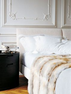 One Amazing Accessory: If you only purchase ONE accessory this Fall/Winter season, make it a fur throw! Perfect in ANY room - throw it over the foot of a bed, the back of your sofa, your favorite reading chair - it will instantly and beautifully warm up the room!