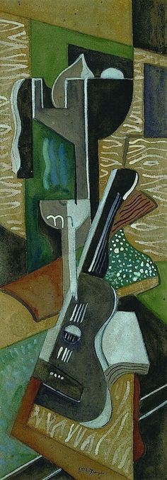 Jean Metzinger, Composition à la guitarre