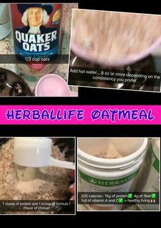 Herbalife Oatmeal