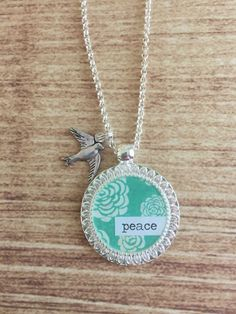 Peace Necklace by WildRoseMN on Etsy