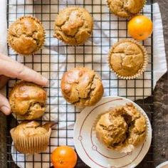 One-Bowl Sweet Potato Peanut Butter Muffins - The Natural Nurturer Chocolate Protein Muffins, Flourless Muffins, Paleo Chocolate, Veggie Muffins, Sweet Potato Muffins, Gluten Free Muffins, Baby Food Recipes, Free Recipes, Healthy Recipes