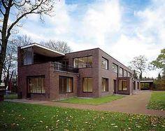 Built 1928 - Bauhaus by Ludwig Mies van der Rohe. Haus Lange/Haus Esters in Krefeld, Germany