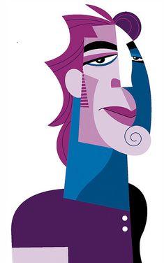 [ Javier Bardem ] - artist: Pablo Lobato - website: http://lobaton.wordpress.com/