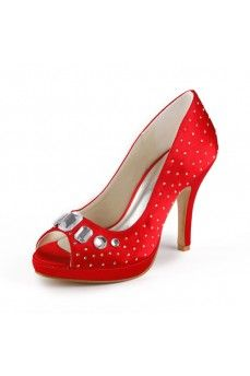 Platform Satin Stiletto Heel Pumps. Get special discounts up to 70% Off at Abbydress with Discount & Voucher Codes