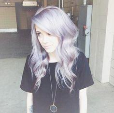 Light lavender hair♡