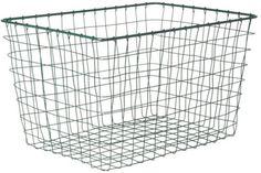 Opbergmand - 40x28x25cm - Metaal - Groen €29.95