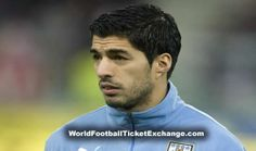 Uruguayan Football Association is hopeful about Luis Suarez that he will be fit to play in World Cup although having surgical treatment on an injured knee. Suarez felt severe pain in training on Wednesday and had a surgery to repair meniscus damage. Uruguay will face England in their second group match of Brazil World Cup 2014 on 19 June. WorldFootballTicketExchange.com offers Uruguay Vs England Tickets on attractive prices with timely delivery.
