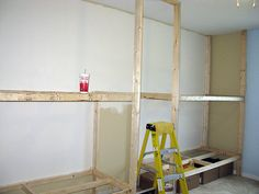 Built-in Bunk Beds - step 1