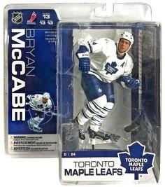 8894fb77cb9 McFarlane Toys NHL Toronto Maple Leafs Sports Picks Series 13 Bryan McCabe  Action Figure  White Jersey