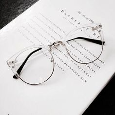 dd4ec6901d jewelry   accessories  daniellieee123 ✧ Ray Ban Clear Glasses