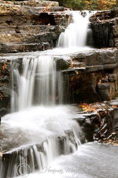 Dismal Falls in the fall.