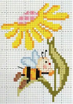 123 Cross Stitch, Cross Stitch For Kids, Cross Stitch Bookmarks, Cross Stitch Flowers, Cross Stitch Designs, Modern Cross Stitch, Cross Stitch Patterns, Cross Stitching, Cross Stitch Embroidery