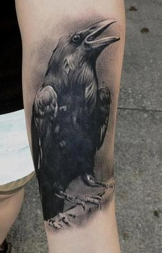 Httpwwwtattoostimecomceltic Crow And Raven Tattoos picture
