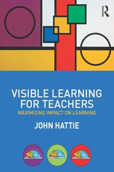 Book Review: Hattie's Visible Learning for Teachers   Cult of Pedagogy