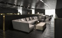 Lounge Seymour seating system, Rodolfo Dordoni Design