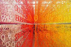 """国立新美術館""""開館10周年記念""""6万ピースの数字で彩られた美しいインスタレーション! – #casa"""