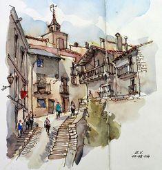 Urban Sketchers Spain. El mundo dibujo a dibujo.: