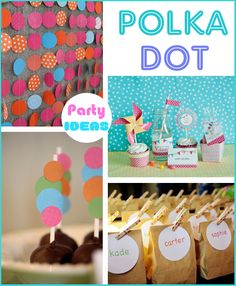 Polka Dot Party Ideas There's GOT to be some time when I'll throw a Polka Dot Party as well..! (: