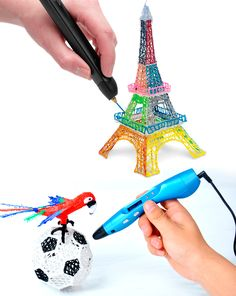 Scribbler 3D Printing Pen V3 - NEWEST MODEL - Gift idea for kids - Let your kids' creativity fly away with this amazing Scribbler 3D Printing Pen V3! Create unique and fantastic 3-D art straight out of your imagination. Perfect gift idea for kids! - $97.99