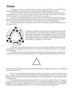 Alchemy: Polygons part 1 by Notshurly.deviantart.com on @DeviantArt
