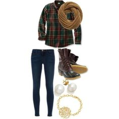 """winter fashion"" by the-southern-prep on Polyvore"