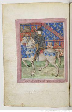 Armorial de GILLES LE BOUVIER, dit BERRY, héraut d'armes du roi Charles VII. Date d'édition : 1401-1500 Type : manuscrit Langue :Français